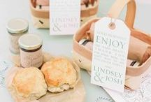 Wedding Favors and Welcome Gifts / Our favorite ideas for guest favors and packaging as well as hotel welcome gifts.
