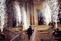 Bride and Groom Send Offs / Ways to say goodbye at the end of the night that make for fabulous photos!