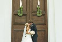 Monograms / We love monograms in weddings and really in anything.