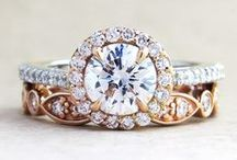 Baubles / engagement rings, wedding bands, earrings, all things jewelry for the bride