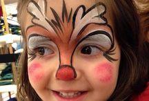 Chrimbo face painting
