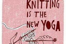 I love knitting!