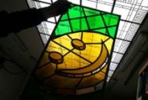 Stainedglass Windows  / Stainedglass windows glas in lood ramen  / by Glas in Lood Atelier Schmit