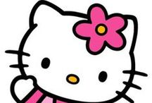 Hello Kitty / A collection of various Hello Kitty items. / by Ande Greco