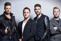 Boyzone / Artist board for Boyzone, signed to Warner music.