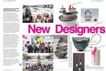 Designer Events - New Designers 2014 / As a media partner we are proud to be involved with New Designers the annual showcase of emerging design talent. Here are some of this year's winners alongside editorial coverage in Designer Kitchen & Bathroom magazine. www.newdesigners.com.