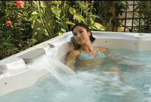 Your Hydromassage Awaits / Create your very own spa experience with a tension soothing hot tub as the main attraction. The Great Escape carries a variety of spas to meet every space and budget!