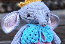mysiaac-art / Crochet things I've made