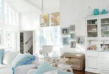 """Beach Living / """"Beachy"""" decor for coastal living and beyond"""