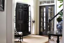 Foyer & Entryway / Create an inviting and useful space for guests and family members