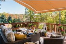 Spring into Outdoor Living / It's time to cast off the layers and enjoy the sunshine on your new patio set from The Great Escape! What's better than finally soaking up the sun after a long, harsh winter? Getting your dream outdoor furniture at a great price!