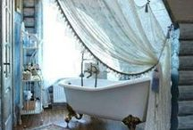 Bathrooms....elegant, modern, urban, classic, rustic, primitive.....all distinctly beautiful in their own way. / by M. Myers