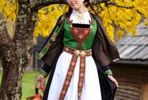Folk costumes galore
