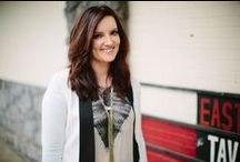Brandy Clark / Artist board for Brandy Clark, signed to East West record label.