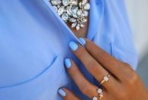 Fashion and Nail Inspiration / compliment any outfit with the right colour nails