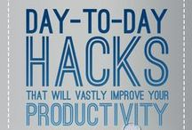 Productivity Tips! / Life is crazy and busy and crazy busy. That's why we created YAWP! But use this tips and hacks to save some precious time throughout the day.
