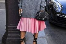 Catwalk and street style / Street style inspirations, catwalk looks