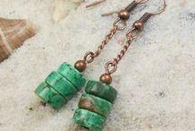 Natural stones earrings!