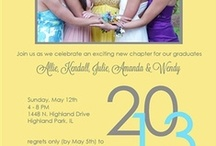 Grads!!! / Grad Announcements, Party Invitations, and Great Gifts for Grads!