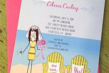 All things Wedding! / Save the Dates - Invitations - Address Stamps - and everything in between!