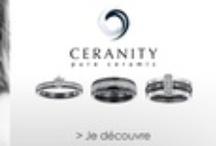 Ceranity / Découvrez CERANITY : une collection de bagues, bracelets et boucles d'oreilles en céramique, acier et argent 925 millièmes, ornés d'oxyde de zirconium ou de diamants au style à la fois moderne et raffiné.