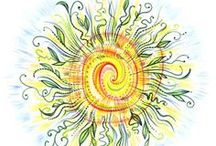 Holiday: Summer Solstice / June 20-22 ~ Celebrating the first day of Summer.  If the original artist sees any of their work on this board, that doesn't give proper credit or they just don't want it here, please message me and I will fix or remove it.