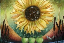 Holiday: Fall Equinox/Second Harvest /  September 20-22 ~ The First Day of Fall.  If the original artist sees any of their work on this board, that doesn't give proper credit or they just don't want it here, please message me and I will fix or remove it.