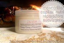 Cosmetica natural-Capilar / Productos naturales artesanales para un cabello sano y bonito.