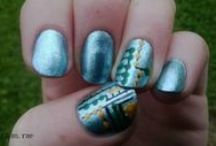 My nail art / All the nail art I've done that I'm happy with :)