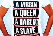 Damskie koszulkowe inspiracje / Nie macie pomysłu na własny projekt damskiego t-shirtu? Może te Was zainspirują do stworzenia niepowtarzalnego nadruku na koszulkę! ;-)