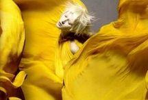 ☆~*¨¨*Amarillo*¨¨*~☆ / El amarillo simboliza la luz del sol. Representa la alegría, la felicidad, la inteligencia y la energía. / by ✿⊱╮Marcela╭⊰✿