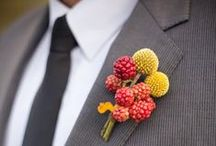 Boutonniere and Button Holes / Flower or alternate apparel for the men