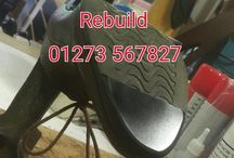 Made and mended in action / Our repair shop