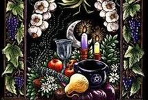 Holiday: Last Harvest / The Last Harvest is a time to honor the Land Spirits, the Hunters and Gatherers, and the Weavers of Warmth; to celebrate the last harvest of the year, and to make the final preparations before the cold, barren months ahead.  It's a time for abundance, family bonds, warmth, and gratitude.  The Gods I celebrate during this time are Hestia, Artemis, Ceres, and Dionysus.  (celebrated on Thanksgiving)