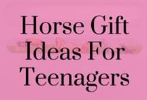 Horse Gift ideas for Teenagers / Horse gifts and ideas for teenagers who spend a lot of time at the stables!