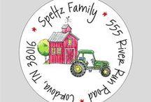 Barnyard Farm Party / by Wacky Kracker
