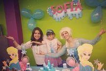 Fiestas Infantiles Barcelona - Animación Frozen - La Cuca Animadora / Fiesta Frozen en Barcelona con La Cuca Animadora