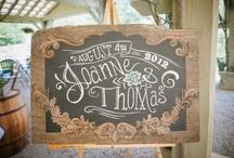 Signs & Frames / Wedding Signs, Chalkboard and Frames
