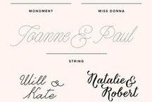 Calligraphy/ Typography