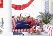 Patriotic Crafts & Decor / Red, White & Blue Crafts & Decor For the Home / by VFW Auxiliary