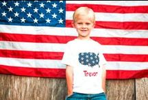 Kids Can Wear Red, White & Blue, Too! / Patriotic Clothing for Kids / by VFW Auxiliary