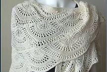 crochet (szale i chusty) / szale