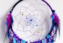 Dream Catchers / I love dream catchers and have the everywhere.