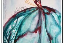 Lovely Aqua and Red / by Lee Ann