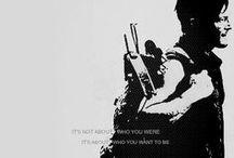 DARYL DIXON / Awww Daryl. <3