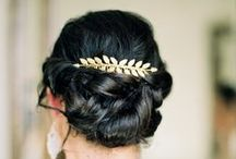 Wedding Hair / Hair inspirations and ideas for a bride on her wedding day!