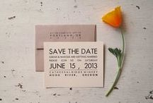 Save the date / ideas for wedding save the dates