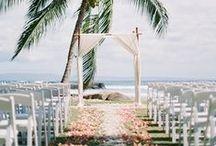 Beach Wedding / wedding ideas for a beach wedding