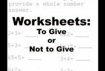 Teaching Math Ideas / Math board for elementary age concepts
