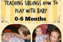 Baby Play and Care Taking / How to take care of your baby and ideas on play
